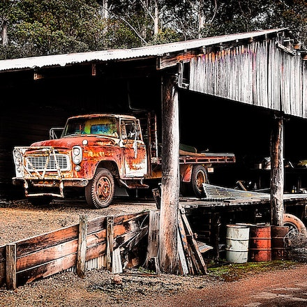 Outback Workshop - Donnerly Village, an old forest mill town, Western Australia.