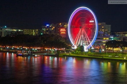 The Wheel of Brisbane, Southbank, Brisbane, QLD - In April 2013 I decided to go out to Southbank and surrounds and give night photography a go.