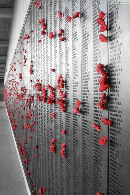 Wall of Remembrance, Australian War Memorial, ACT