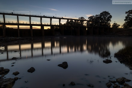 The Andrew Nixon Bridge crosses the Balonne River at St. George, QLD 04