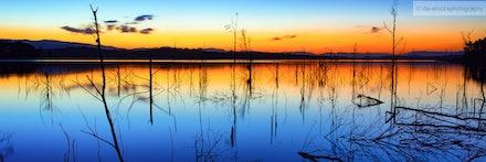 Lake Samsonvale from Forgan Cove