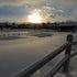010514 Snowy Sunset