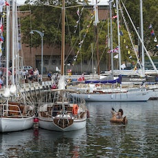 Boats Afloat AWBF 2017 - Images of Boats Afloat, displayed at the Australian Wooden Boat Festival 2017, Hobart, Tasmania, Australia, February 10-13th inclusive...
