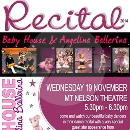HOD Babyhouse Recital 2014 - Hobart Dance Photography - House Of Dance Presents the Angelina Ballerina Babyhouse recital. Little Mouselings took to the...