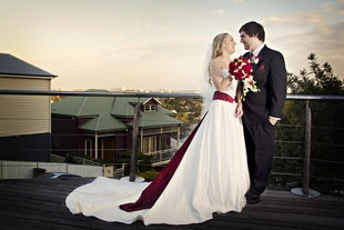 wedding ~ Sam & Melissa - Mount Cootha Wedding