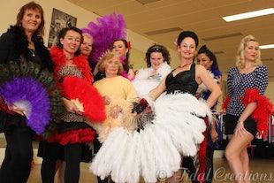 sur scène ~ Burlesque Workshop with Elenie
