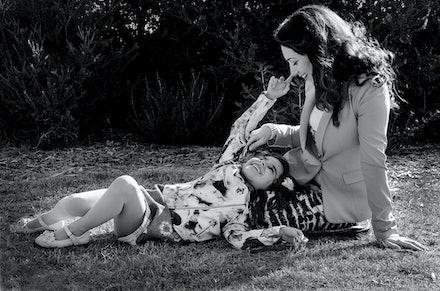 Julia & Amily - From a family shoot at Brighton Beach