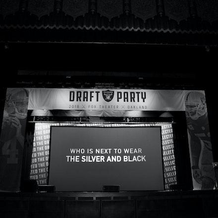 Raiders Draft Party 2018
