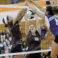 Merrillville vs. Chesterton (IHSAA Sectionals) - 10/23/14 - Chesterton defeated Merrrillville in four sets on Thursday evening (10/23) in LaPorte.  You...