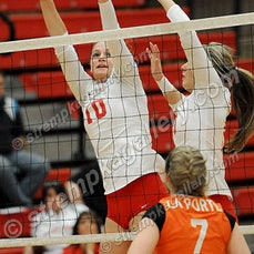 LaPorte vs. Crown Point - 9/22/15 - Crown Point was a three set winner over LaPorte on Tuesday evening (9/22) in Crown Point.  Scores were 25-22, 25-10,...
