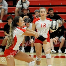 Portage vs. Crown Point - 9/7/17 - Crown Point defeated Portage in three sets on Thursday (9/7) evening in Crown Point.  Scores were:  25-9, 25-11, 25-18...