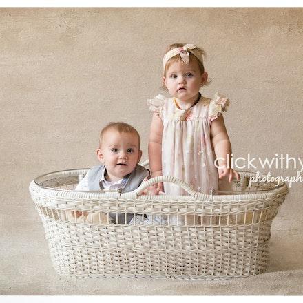 Elijah & Claire 12 months-1