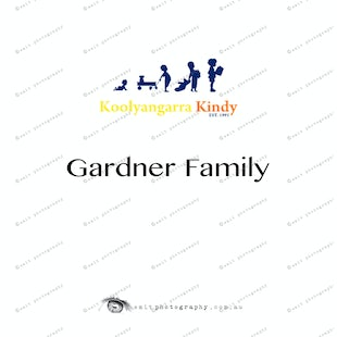 Koolyangarra Kindy - Gardner Family