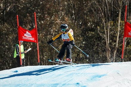 140829_sx_8375 - NSW State Championships-  skier cross race at Thredbo, NSW (Australia) on August 29 2014. Jan Vokaty