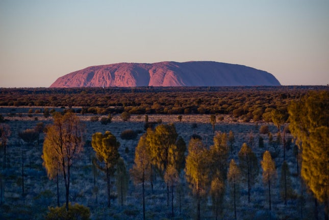 Uluru... - Northern Territory, Australia.