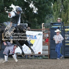 Whittlesea Rodeo - 2nd Div Bull Ride - Sect 2
