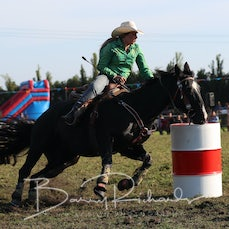 Open Barrel Race - Slack 1