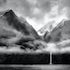 Milford Sound, New Zealand. - Magic,cloudy day in this beautiful place.