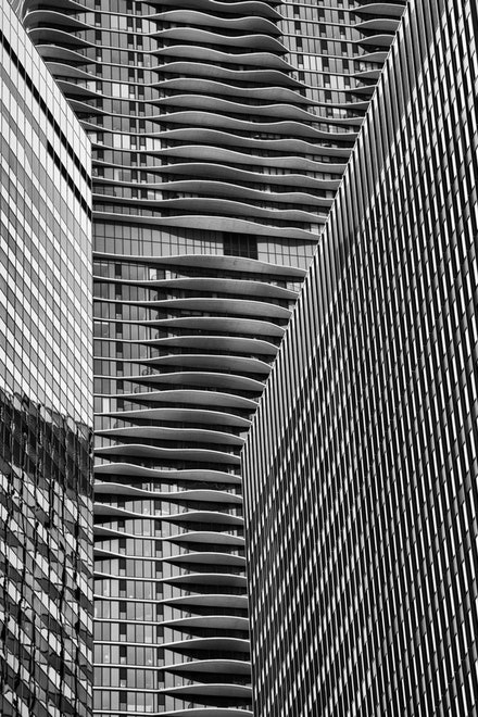 MG_2321 Aqua Building, Chicago - Aqua Building, Chicago.  Aqua is an 82-story mixed-use residential skyscraper in the Lakeshore East development in downtown...