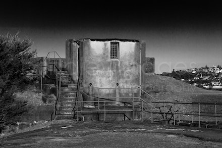 Middle Head-3066 - Derelict gun fortification building , Middle Head, Sydney, NSW