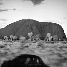 Typical Australian Landscapes - Unusual black & white and colour photographs of rural Australia.