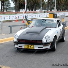 Quit Targa West Rally 17-08-2014 Perth Langley park Finish PM
