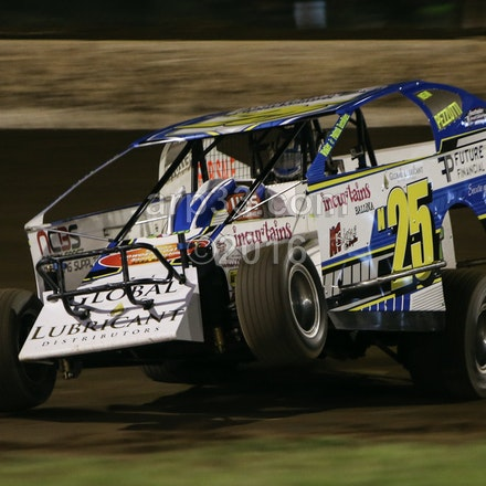 V8 Dirt Modified Aus Champs night 2