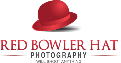 Red Bowler Hat Photography