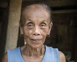 Face of Laos