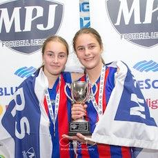 MPJFL Girls medals - Junior Girls 2017
