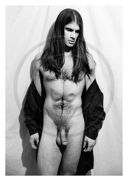 DD10195 - Signed Male Nude Gallery Print by Jayce Mirada