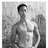 JC11000 - Signed Muscular Asian Male Photo by Jayce Mirada