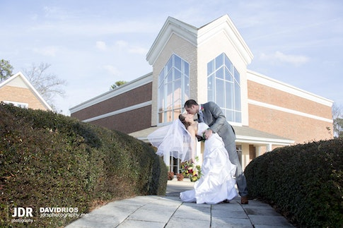 Bryan and Melanie - Married at The Harvest Church.