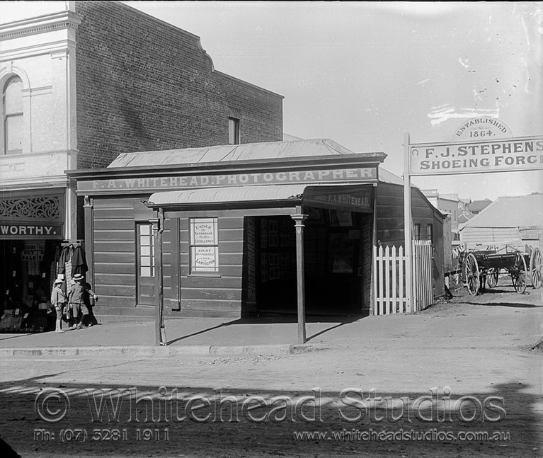 WHD-002-GPL-0049 - Whitehead Studio early building 1896-1901
