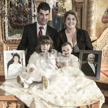 Christening of Eleni Mouzakis
