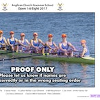 ACGS Rowing Crews 2017