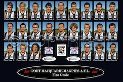 mini-Magpies AFL 1st Grade 2011 Draft 1