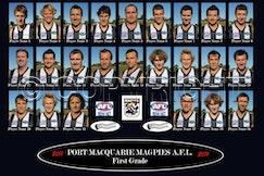 mini-Magpies AFL 1st Grade 2011 Draft 1