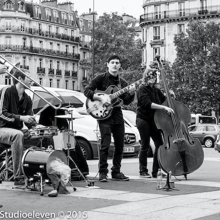 Jazz Band playing at the markets 9687
