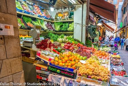 Fruit & veg vendor in the old town - 2121