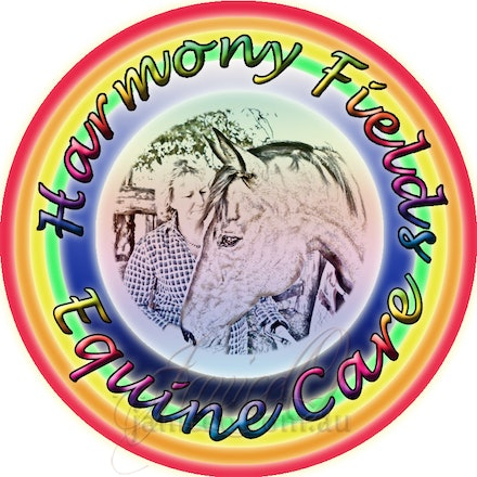 Harmony Fields Logo - Hamrony Fields pictorial logo incorporating the ideals of natural, healthy healing.