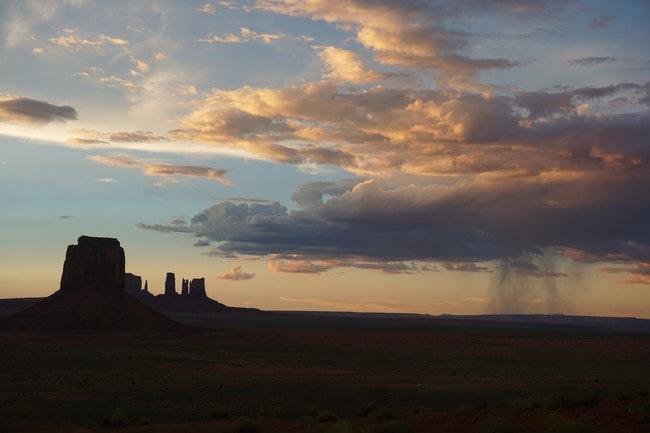 End of the Perfect Day - Monument Valley, Navajo Nation, Arizona