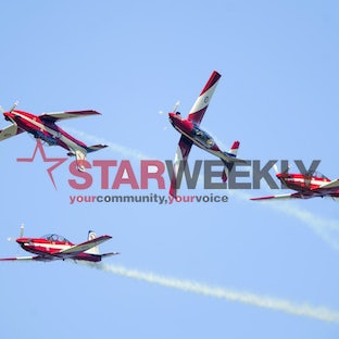 Roulettes display at Point Cook - Pictures by Shawn Smits - story http://www.starweekly.com.au/multimedia/roulettes-wow-point-cook-crowd/