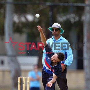 Premier Cricket, Footscray vs Essendon. - Premier Cricket, Footscray vs Essendon. Pictures Damjan Janevski