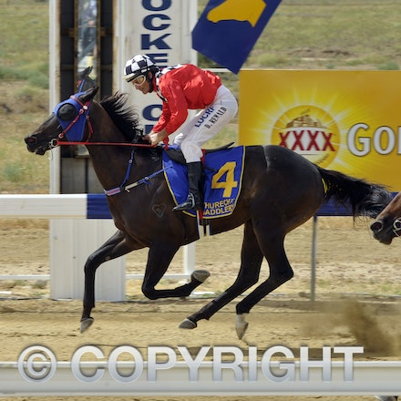 160312_SR29854 - Race 2 at the Longreach Races, Saturday March 12, 2016.  sr/Photo by Sam Rutherford