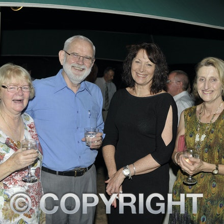 151031_SR23875 - Ann Rimmer, David Rimmer, Di mears, Marg Windsor at the Rotary function held qat the Jumbuck Motel, Longreadch, Saturday October 31, 2015....