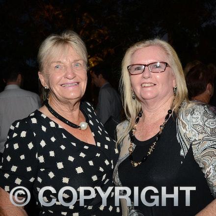 151031_DSC_3945 - Longreach Councillor Jocelyn Avery and Vicki Aver from Alpha.