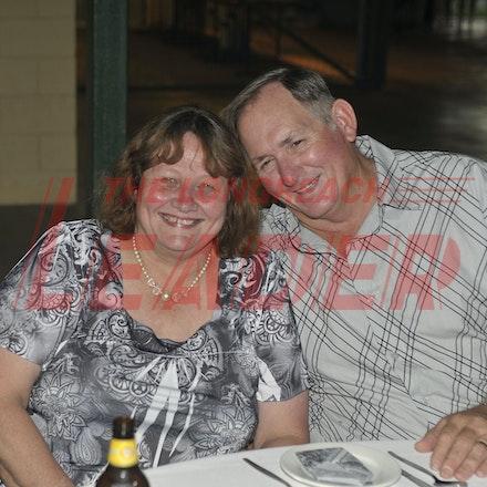 151107_SR24881 - Veronica & Garry Scott at the Sportsmans Dinner in Barcaldine, Saturday November 7, 2015.  sr/Photo by Sam Rutherford.