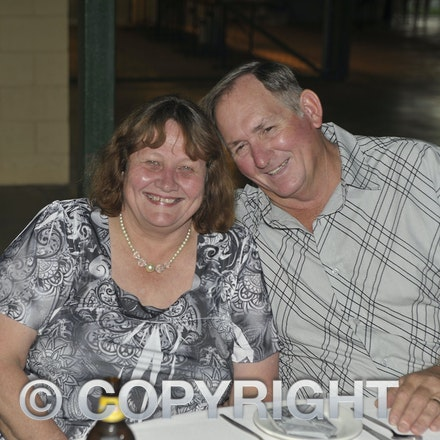 151107_SR24881 - Veronica & Garry Scott at the Sportsmans Dinner in Barcaldine, Saturday November 7, 2015.  sr/Photo by Sam Rutherford.