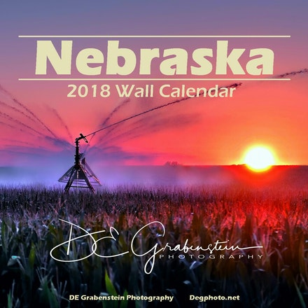 2018 Calendar - Enjoy the beauty of the State of Nebraska as seen through my lens.  This colorful 8.5 x 11 photo wall calendar features 13 images taken...